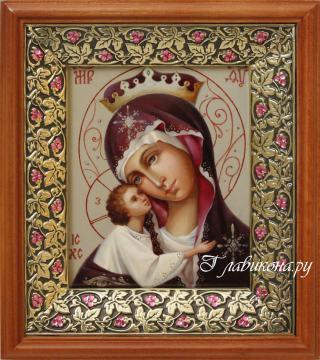 Игоревская Богородица икона в киоте, артикул 262