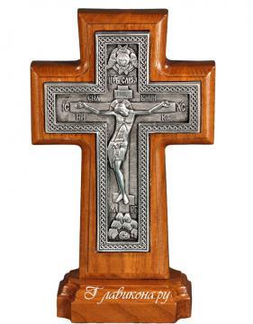Православный крест с плетенкой