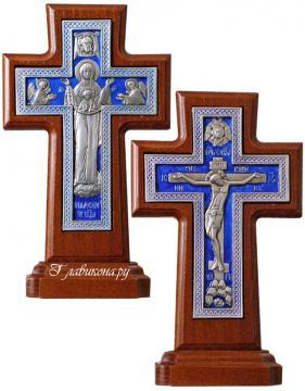 крест со Спасителем и Богородицей