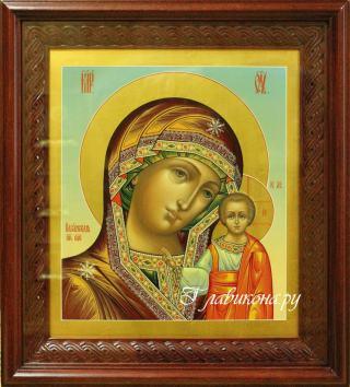 Казанская Божия Матерь, артикул 257 - один из вариантов оформления иконы