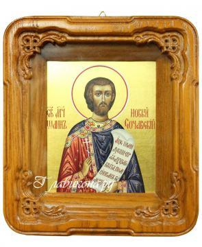Иоанн Новый Сочавский икона в киоте