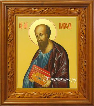 Икона Павла артикул 6013 в киоте