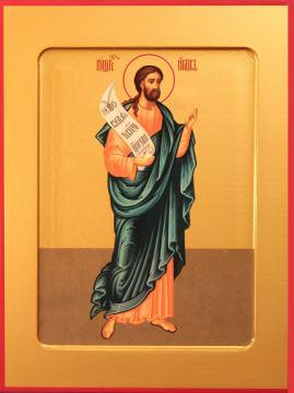 Иаков праотец, икона на дереве печатная