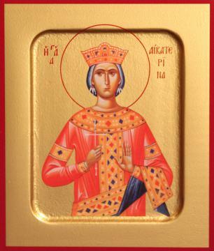 Екатерина великомученица икона, артикул 90103