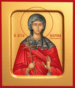 Марина великомученица икона, артикул 90117