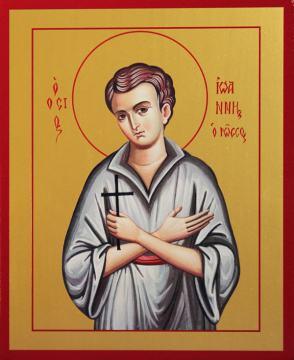 Иоанн Русский исповедник икона, артикул 90039