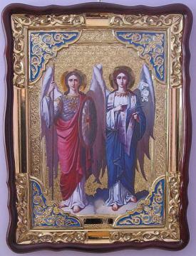 Архангелы Михаил и Гавриил, икона храмовая