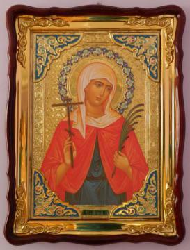 Святая Валентина, икона для храма