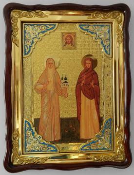 Варвара и Елизавета, икона храмовая