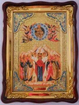 Вознесение Христово (с ангелами), икона храмовая