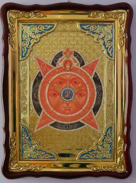 Всевидящее око, икона храмовая