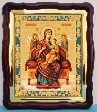 Всецарица Божия Матерь, аналойная икона (43 х 50 см)