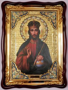 Господь Вседержитель, поясной, икона храмовая