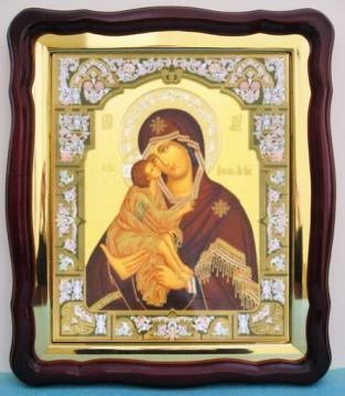 Донская Божия Матерь, аналойная икона (43 х 50 см)