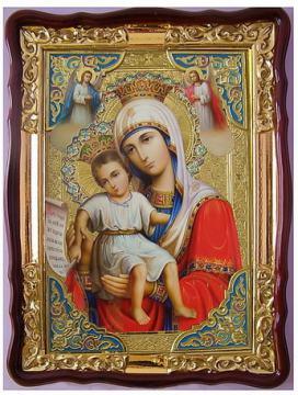 Достойно есть Божия Матерь, икона храмовая, артикул 50262 маленькой фото