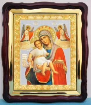 Достойно есть Божия Матерь, аналойная икона (43 х 50 см)