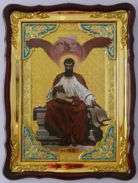 Евангелист Лука, икона храмовая