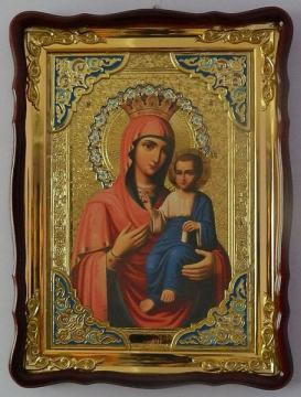 Иверская Божия Матерь, икона храмовая