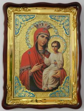 Избавительница Божия Матерь, икона храмовая