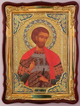 Иоанн Воин (поясной), икона храмовая