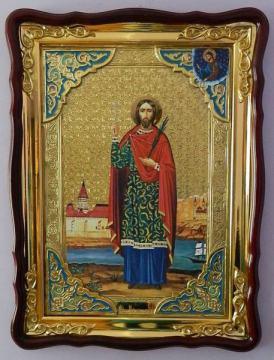 Иоанн Сочавский (ростовой), икона храмовая