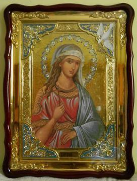 Ирина святая мученица, икона храмовая