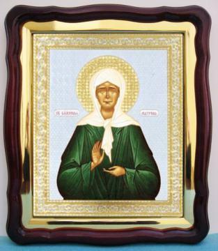 Матрона Московская, аналойная икона (43 х 50 см)