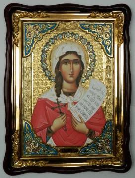 Ника святая мученица, икона храмовая