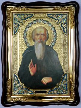 Никола Святоша Печерский, икона храмовая