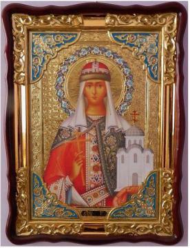 Ольга княгиня равноапостольная, икона храмовая