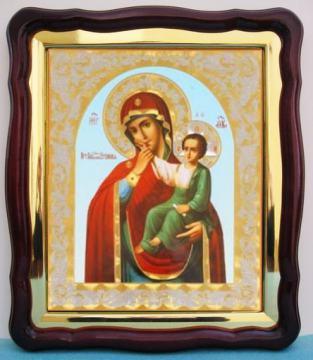 Отрада и Утешение Божия Матерь, аналойная икона (43 х 50 см)