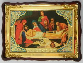 Погребение Иисуса Христа, икона храмовая