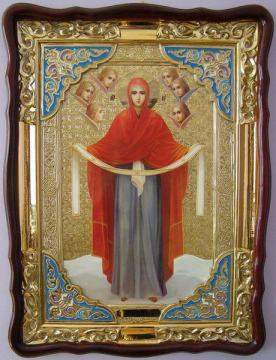 Покров Пресвятой Богородицы, икона храмовая