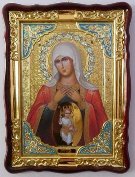 Помощница родах Божия Матерь, икона храмовая