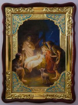 Рождество Христово, икона храмовая