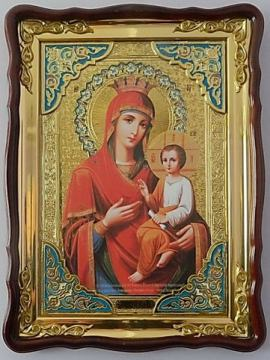 Скоропослушница Божия Матерь, икона храмовая