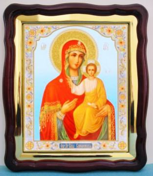 Смоленская Божия Матерь, аналойная икона (43 х 50 см)