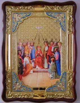 Сошествие святого духа, икона храмовая