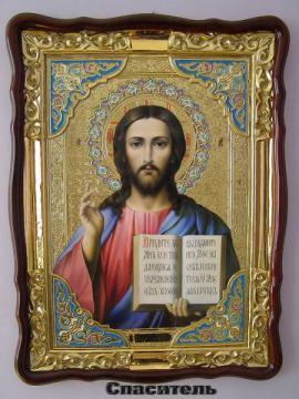 Спаситель, икона храмовая