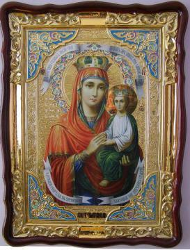Споручница грешных Божия Матерь, икона храмовая
