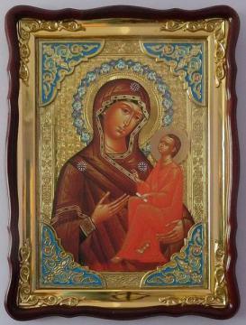 Тихвинская Божия Матерь, икона храмовая
