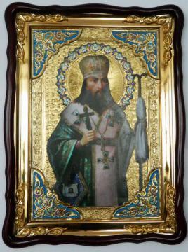 Феодосий Черниговский, икона храмовая