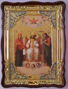 Царь Славы, икона храмовая
