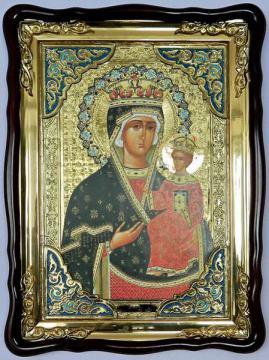 Ченстоховская Божия Матерь, икона храмовая
