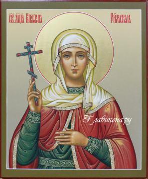 икона рукописная Виктории Римской, артикул 6020