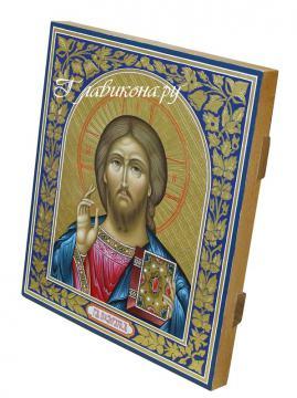 Икона Господа вид с боку