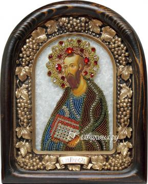 Икона бисером Апостола Павла