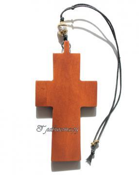 вид креста сзади