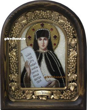 Аполлинария, преподобная, икона