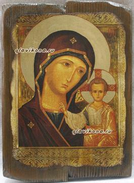 Казанская - икона под старину